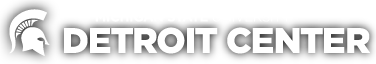 Michigan State University Detroit Center Logo